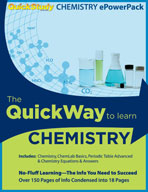 Chemistry ePowerPack - QuickStudy Guide