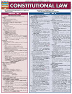 Constitutional Law - QuickStudy Guide