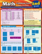 Math Common Core 2Nd Grade - QuickStudy Guide
