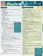 Nuclear Medicine - QuickStudy Guide