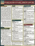 Parliamentary Procedure - QuickStudy Guide