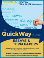 PowerPack - Essays & Term Papers Bundle - QuickStudy Guide