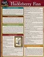 Quicklit:The Adventures Of Huckleberry Finn - QuickStudy Guide