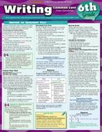 Writing Common Core 6Th Grade - QuickStudy Guide
