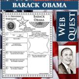 BARACK OBAMA U.S. PRESIDENT WebQuest Research Project Biography