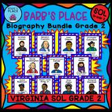BARB'S PLACE BIOGRAPHY BUNDLE GRADE 2