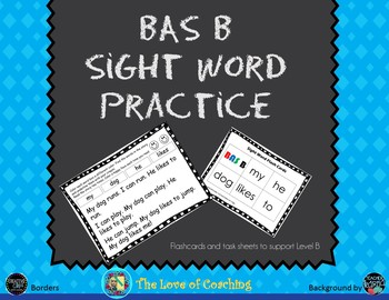 Reading Practice for BAS Level B