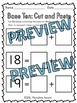 PLACE VALUE WORKSHEETS 11-19 (TEEN NUMBERS CUT AND PASTE ACTIVITY BASE TEN BLOCK