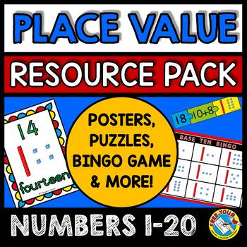 PLACE VALUE WORKSHEETS AND CENTERS: BASE TEN ACTIVITIES & GAMES