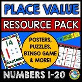 KINDERGARTEN PLACE VALUE GAMES AND ACTIVITIES #bts30
