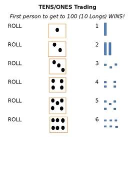 BASE TEN TRADING GAME