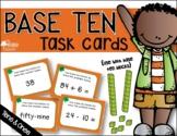 BASE TEN Task Cards (tens & ones)