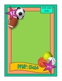 Trading Card Template - Baseball/Sports