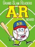 BASEBALL - Classroom Decor: AR reading tracker - size 36 x 48 poster