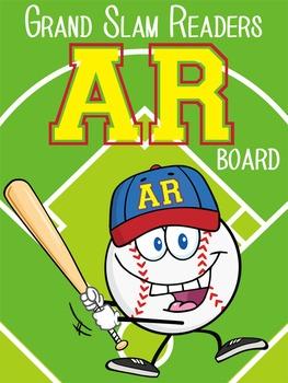 BASEBALL - Classroom Decor: AR reading tracker - size 36 x