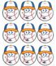 BASEBALL - Classroom Decor: i-ready reading tracker - size 36 x 48 poster
