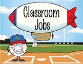 BASEBALL - Classroom Helpers JOBS clip chart