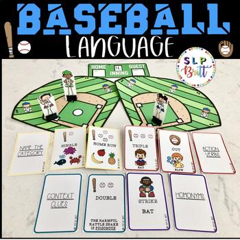 BASEBALL LANGUAGE (SPEECH AND LANGUAGE THERAPY)