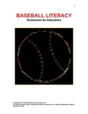 BASEBALL LITERACY:  READING, WRITING, AND THINKING