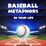 BASEBALL METAPHORS ... SPORTS Figurative Language TASK CARDS ... Gr 4,5,6,7
