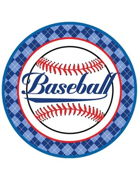 BASEBALL - Table Numbers and Circle Decorations