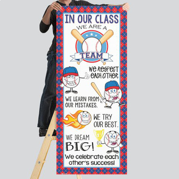 BASEBALL - Classroom Decor: LARGE BANNER, In Our Class