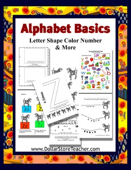 BASIC Alphabet Curriculum - Letter Z - Preschool Introduction Lessons