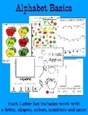 BASIC Alphabet Curriculum for Preschool and Kindergarten -