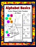 BASIC Alphabet Teaching Letter Y - PreK Kindergarden Child Care Preschool