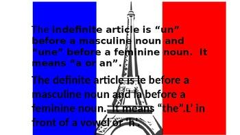 BASIC FRENCH GRAMMAR