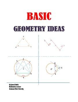 BASIC GEOMETRY IDEAS