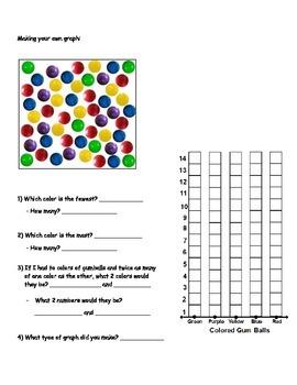 Basic Math Skills - Graphing - BASIC GRAPHING SKILLS Worksheet