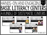 BASIC Literacy Centers Bundle