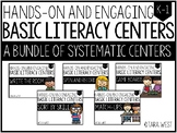 BASIC Literacy Centers Bundle