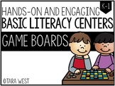 BASIC Literacy Centers: Game Boards