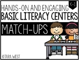 BASIC Literacy Centers: Match-Ups