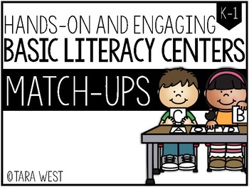BASIC Literacy Centers: Match-Ups