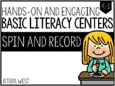 BASIC Literacy Centers: Spin and Record