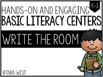 BASIC Literacy Centers: Write the Room