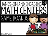 BASIC Math Centers: Game Boards