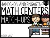 BASIC Math Centers: Match-Ups