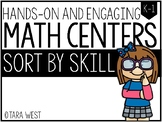 BASIC Math Centers: Sort It Out