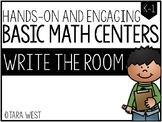 BASIC Math Centers: Write the Room