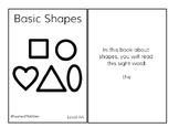 BASIC SHAPES Emergent Readers **GROWING BUNDLE**