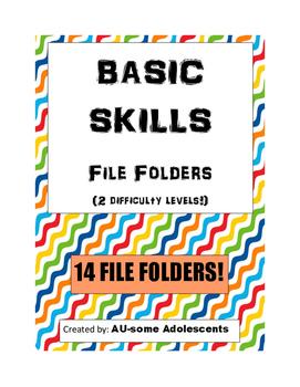 BASIC SKILLS File Folders