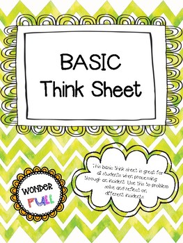 BASIC Think Sheet