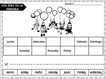 BASIC VOCAB. SPANISH