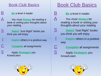 BASICS of Book Club