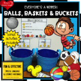 BASKETBALL  ARTICULATION  SPEECH  worksheets SPATIAL CONCE