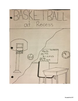 BASKETBALL AT RECESS